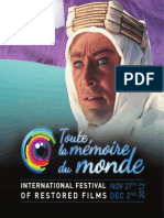 toute la memoire du monde (international festival of restored films 2012)