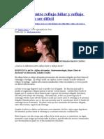 ACIDEZ ESTOMACAL BILIS Reflujo biliar y reflujo ácido