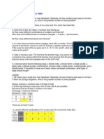 Process Worksheet
