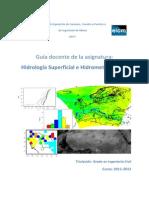 Guia Docente.- Hidrologia Superficial e Hidrometeorologia