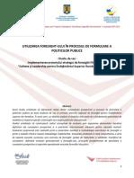 Studiu de Caz Foresight Ul Pentru Politici Publice PODCA1