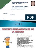 Derechos Fundamentales de La Persona - Grupo 2