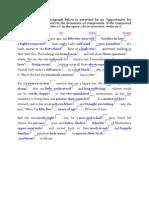 Compound Nouns and Modifiers