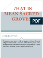Sacred Groves Ppt