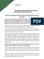 Apresentação do Programa da candidatura do PS Junta Casteloes Cepeda