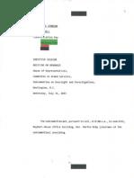 "Declassified Transcripts of Benghazi Briefings Released – Transcript 4_Briefing transcript (redacted), ""DOD's preparation for the terrorist attacks in Benghazi,"" (Part III, Colonel Bristol), July 31, 2013.pdf"