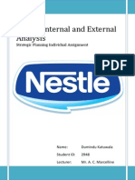 Analysis on Nestlé