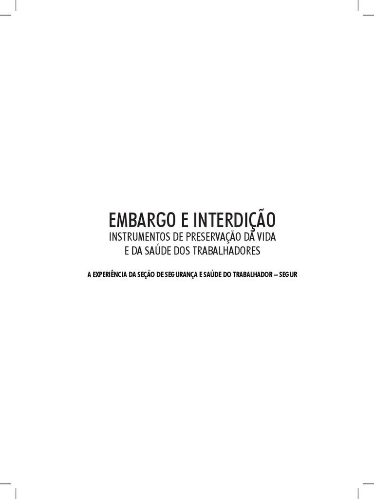 Livro Embargo e Interdicao (1) a0369e8a07