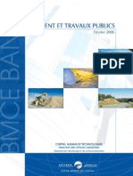 Secteur du Bâtiment et TP au Maroc - BMCE Février 2006