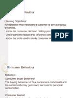 CHAPTER 4 Consumer Behaviour