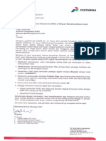 020 (S) Penyaluran Biosohglar Ke SPBU Di Wilayah Marketing Branch Aceh