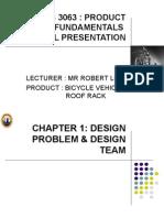product design presentation semester 3-unikl