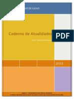 Caderno de Atualidades 2013 - Uninove