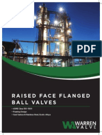 Raised Face Flange Ball Valves