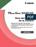 Pssx40hs Guide Es
