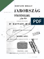 Horváth Mihály - Magyaroszág történelme 2.kötet 1860.