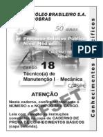 F. Mec Teste de Mecanica Petrobras