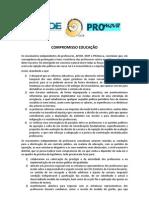 PROmova, APEDE e MUP - Compromisso Educação