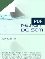 Slide Design de Som