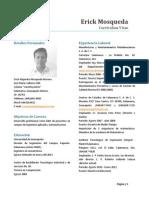 CV Erick Mosqueda