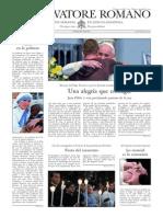 L´OSSERVATORE ROMANO - 07 Febrero 2014