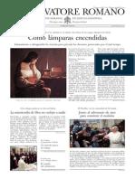L´OSSERVATORE ROMANO - 14 Febrero 2014
