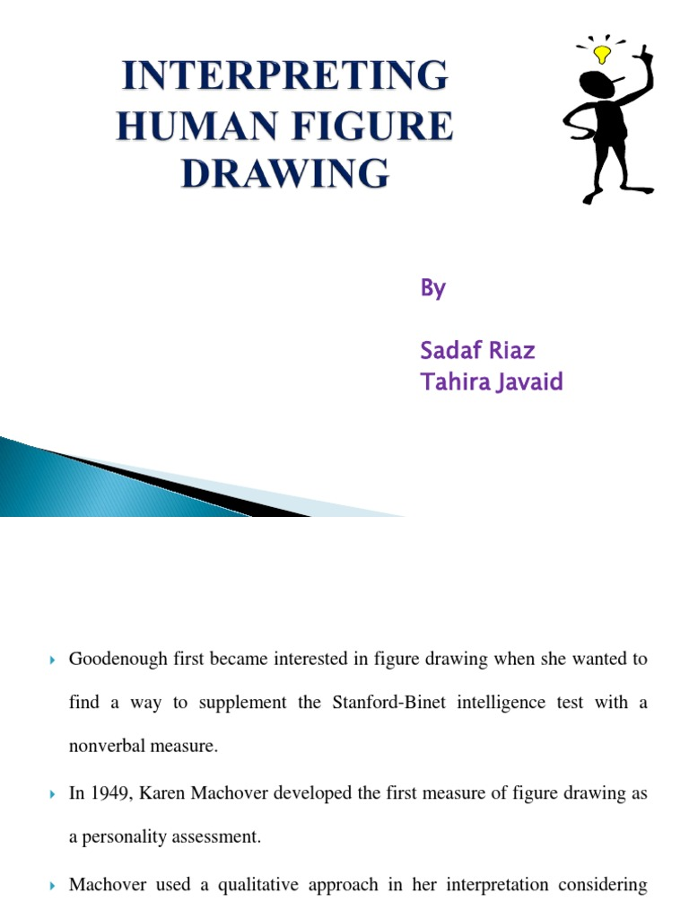 human figure drawing neurosis anxiety rh es scribd com Draw a Person Test Manual Draw a Person Test Psychological Disorders