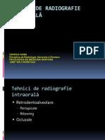 Curs 04 Tehnici de Realizare Radiografii Dentare