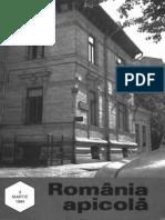 Romania Apicola 1994 Nr.3 Martie