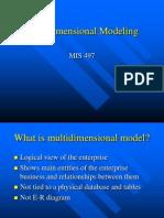 4. Multidimensional Modeling