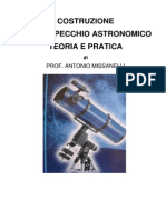 Manuale dello specchio astronomico