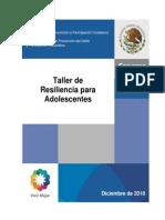 Taller de Resiliencia Para Adolescentes