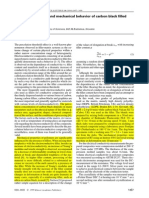 Percolation Effect and Mechanical Behavior of Carbon Black Filled Polyethylene