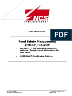 HACCP Booklet