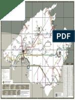 Mapa Red de Transporte de Palma...