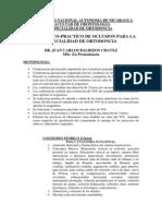 Guia Teorico-Practico de Oclusion Para La Especialidad de Ortodoncia 2014