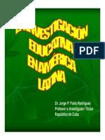 Investigacion Educativa en America Latina