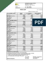 HINCOL Vizag Pricelist 01-02-2014