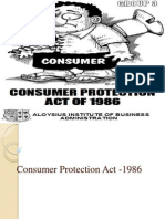 11125 Consumer Protection Act Ppt