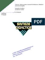 Sinteze_didactice_2014 - psihopedagogie speciala