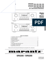 SR5200 service manual