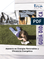 Maestria en Energias Renovables y Eficiencia Energetica