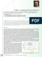 Influence of Film Coating Formulations on Process Time and Co2 Emissions_Chemistry Today