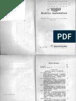 Análisis Matemático - Volumen 2 - 7ma Edición - 1968 - Julio Rey Pastor
