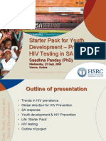 Starter Pack for Youth Development – Promoting HIV Testing In