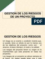 GESTION DE RIESGOS EN LA CONSTRUCCIÓN