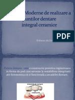 Tehnici Moderne de Realizare a Puntilor Dentare (Zmeu)