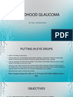 Childhood Glaucoma