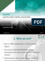 Lantek Presentation 2013 (en) ND