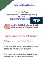CRE L17 Catalyst Deactivation